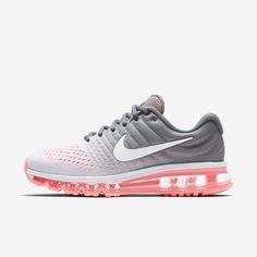 Nike WMNS Air Max 2017 [849560-007] Women Running Pure Platinum/Grey-Hot  Lava