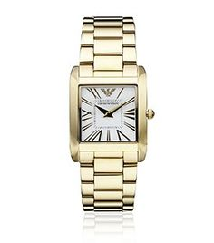 Slim Ladies Watch - You need this to keep an eye on the time, so you know if you should pedal fast or slow! Keep An Eye On, Luxury Gifts, Harrods, Emporio Armani, Michael Kors Watch, Gold Watch, Women's Accessories, My Style, Lady