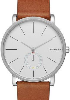 Skagen SKW6273 Hagen Saddle Leather Watch