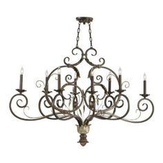 Cyan Design Amelia 8 Light Oval Chandelier  $940