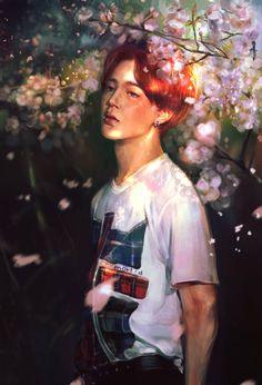 Park Jimin by willIamxx on DeviantArt Jimin Fanart, Kpop Fanart, Jikook, K Pop, Namjoon, Memes, Fandom, Blackpink And Bts, Bts Drawings