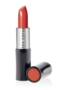 Spring 2014 On Trend Lip Color ~ Mary Kay Crème Lipstick in Sunny Citris ~ http://www.marykay.com/lisabarber68 Call or text 386-303-2400