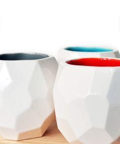 Polygon Espresso Cups