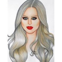 Love this cute drawing of me by @colour_yasmin  #shaaanxo