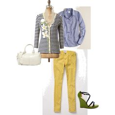 Perfectly Preppy, created by savvystylist