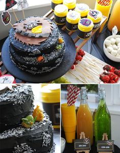 Cake - An Angry Birds Star Wars Party