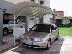 garagem para carro de zinco - Pesquisa Google