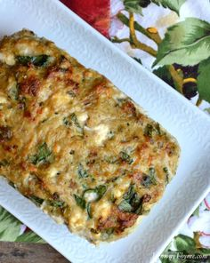 Greek Chicken Meatloaf {with Spinach & Feta}