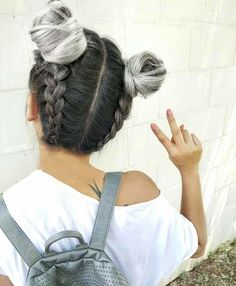 40 Cute Hairstyles for Teen Girls is part of Teen hairstyles - Getting bored of all those super boring hairstyles Then you seriously need some cute hairstyles for teen girls to flaunt off at school Cute Hairstyles For Teens, Teen Hairstyles, Long Haircuts, Hairstyles 2018, Trendy Haircuts, Plait Hairstyles, Formal Hairstyles, Latest Hairstyles, Hairstyle Photos