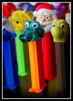 Pez the kids and I had these, those were the days
