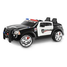 Kid Trax Dodge Pursuit Police Car Battery-Powered Ride-On in Toys & Hobbies > Diecast & Toy Vehicles > Cars, Trucks & Vans > Contemporary Manufacture Kids Police Car, Police Cars, Police Wife, Police Officer, Lights And Sirens, Power Wheels, Kids Ride On, Ride On Toys, Toys R Us