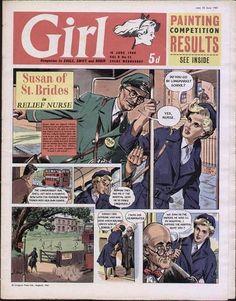 GIRL UK COMIC VOL 9 NO 25 JUNE 18 TH 1960 | eBay