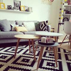 Un style scandinave pour le salon #madecoamoi