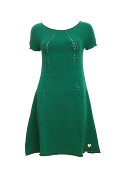 Cap Sleeve Knit Dress