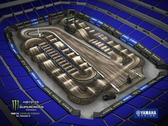 Dirt Bike Track, Rc Track, Motocross Tracks, Lucas Oil Stadium, Yamaha, Hilarious, Maps, Toy, Live