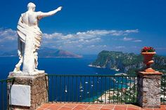 Hotels with best views in the world - Caesar Augustus Hotel, Capri, Italy - Check it out!