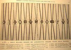 Lorgnette Chains 1900 Gatter Catalog