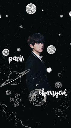 Kyungsoo, Park Chanyeol Exo, Kpop Exo, Black Wallpaper Iphone, Iphone Wallpaper, Color Worksheets For Preschool, Exo News, Exo Lockscreen, Exo Members