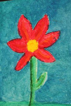 Beautiful flower card!