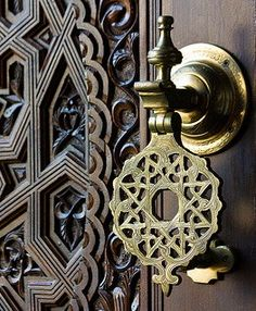 Moroccan Antique Door Knocker