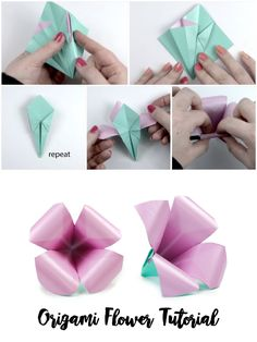 Look At The Webpage To Learn More About Origami Projects