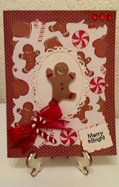 Christmas Card / Handcrafted By Cindy Babich 2014