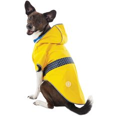 Good2Go+Reversible+Dog+Raincoat+in+Yellow+-+Brighten+up+rainy+days+with+the+water-resistant+Good2Go+Reversible+Dog+Raincoat+in+Yellow.+This+sunny+water-resistant+dog+jacket+features+reflective+details+and+a+2-in-1+design+so+you+can+refresh+your+canine's+look+in+seconds. - https://www.petco.com/shop/en/petcostore/product/good2go-reversible-dog-raincoat-in-yellow