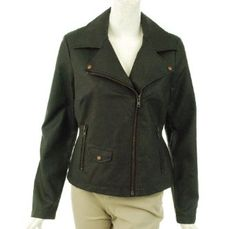 Bootheel Trading Co by Sheryl Crow Polyurethane Zip Jacket