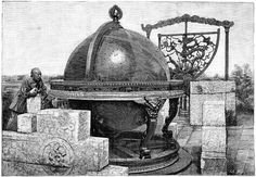 Chinese Celestial Sphere, 17th Century Photograph by