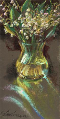 Judith Carducci pastel still-life painting