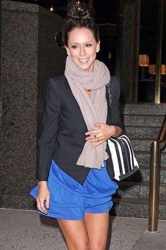 Jennifer Love Hewitt Smiles New York
