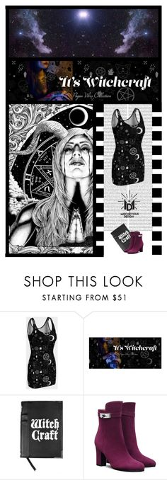 """""""Mischievous Design (47)"""" by irresistible-livingdeadgirl ❤ liked on Polyvore featuring Disturbia, emo, goth, hermes, witch and polyvoreeditorial"""
