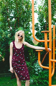 Finn Dress in Cherry