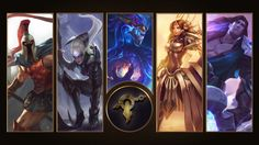 [League of Legends] Mount Targon Wallpaper by TheLadyClockWork on DeviantArt