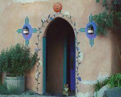 Taos New Mexico ~ beautiful doorway