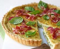 Le 10 migliori ricette di quiche Italian Food Restaurant, Restaurant Recipes, Ricotta, Popular Italian Food, Muffins, Food Artists, Tasty, Yummy Food, Creamy Sauce