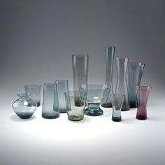 Glass vases could be sculptural and their manufacturers achieved very high quality standards during the mid century modern period. Check the story of two of the most important countries in the history of mid-century modern glass design manufacturing