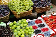 Pic: Fresh fruit in a local market