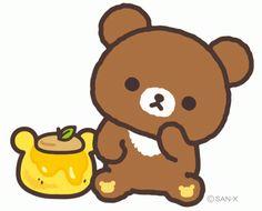 iheartrilakkuma:  Rilakkuma Honey Bear