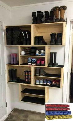 shoe storage Ideas For Foyer Shoe Storage Diy Shelves