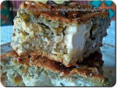 Η απόλαυση της βρώσης ~ Ας μαγειρέψουμε: Αλμυρό κέϊκ με φέτα και μυρωδικά της Ντίνας Νικολά...