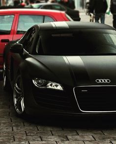Beautiful Audi R8 in Matte Black