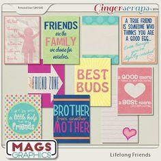 Lifelong Friends JOURNAL CARDS