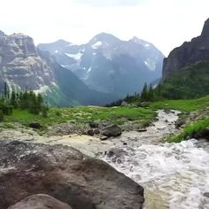 Sometimes there are just no words to describe the beauty of Glacier National…