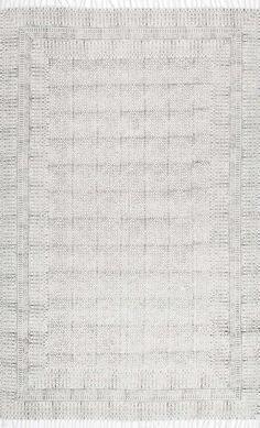 This Rugs USA Chembra CH14 Flatweave Cotton Sparkling Moroccan Tribal Trellis Rug is pure perfection!