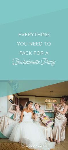 Everything You Need to Pack for a Bachelorette Party - From dry shampoo to  your LBD 524e31e5acbf