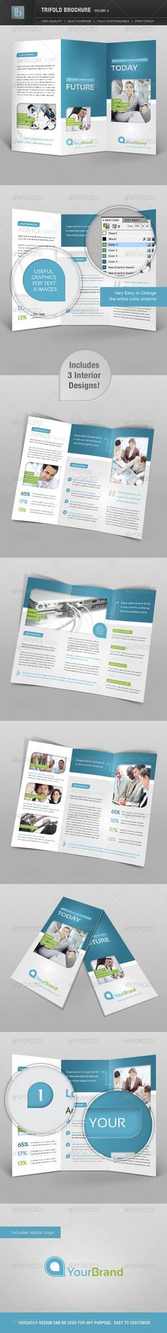 Trifold Brochure | Volume 6 - GraphicRiver Item for Sale