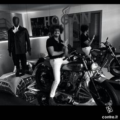 @simodt  We wanna ride, we wanna discover everything possible. Random, free, rebel. We are #contrestyle !  #hogan #shoes #motocycle #photography #blackandwhite #work #showroom #milano #ootd #onlineshop #lookoftheday #likesforfollow #fashion #fashiongram #style #love #sexyguy #beautiful #mood #instamood #outfit #clother #mylook #fashionista #instastyle #instafashion #contreboutiques