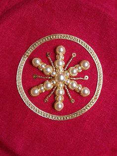 Second snowflake Christmas tree ornament.