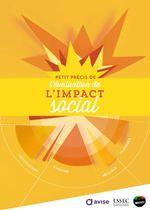 Petit précis de l'évaluation de l'impact social